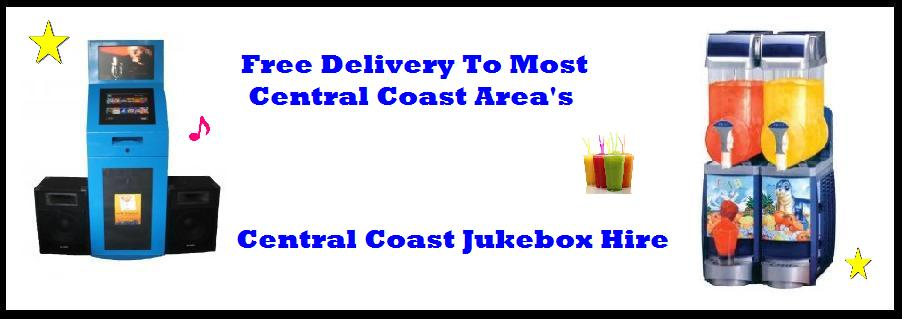 Jukebox Hire Free Deliver Central Coast Party Music Home